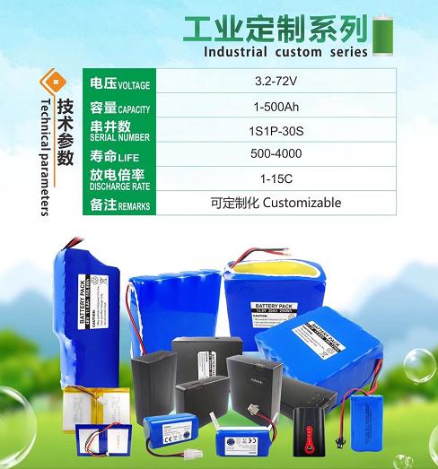工业定制电池组